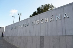 Government signage - Wexford Garda Station stainless steel lettering and branding signage