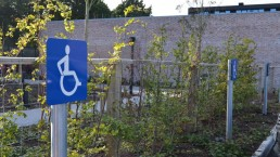 Government signage - handicapped signage