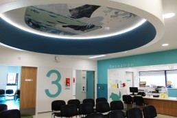 Temple Street Childrens Hospital Ceiling Mural