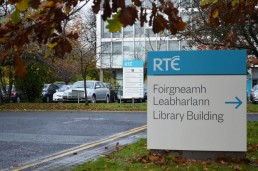 Corporate Signs - RTE external monolith sign