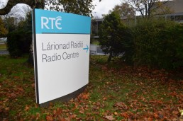 Corporate Signs - RTE corporate directional monolith external sign