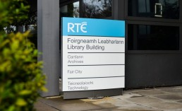 Corporate Signs - RTE external monolith
