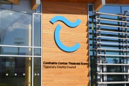 Tipperary County Council external lettering and branding