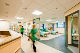 Health sector wayfinding and signage