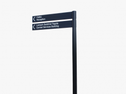 Carlow Institute of Technology fingerpost sign