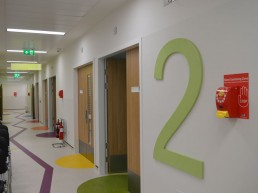 Temple Street Childrens Hospital Wall & Floor Graphics