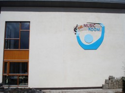 The Music Room external branding