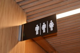Trinity GBHI Projecting Sign for Gender Neutral Bathrooms