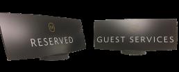 Hotel Concierge Desk Signage