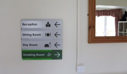 Moycullen Nursing Home Internal Directory Sign