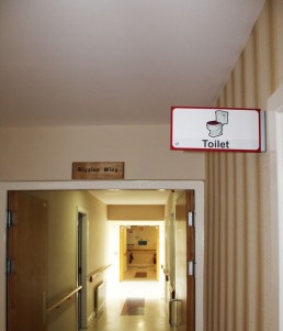 Moycullen Nursing Home Internal Projecting Sign