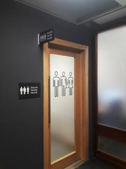 UCD Gender Neutral Bathroom Signs