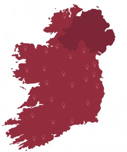 Wayfinders Ireland Map