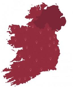 Wayfinders Ireland Map