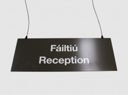 Suspended sign