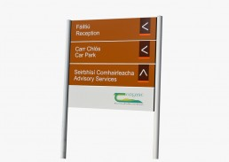 Teagasc Post & Panel Sign