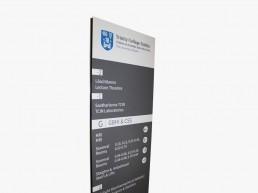 Trinity College Dublin External Monolith