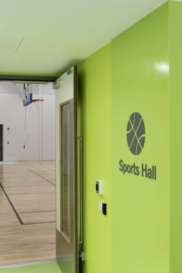 National Rehabilitation Hospital Sports Hall Sign