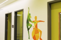 National Rehabilitation Hospital Wall Graphics