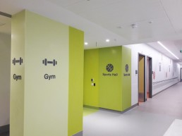 NRH Sports Hall & Gym Wall Graphics