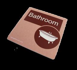 Dementia Friendly Bathroom Sign