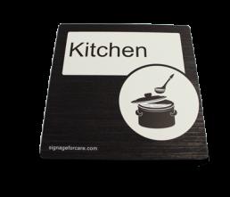 Dementia Friendly Kitchen Sign