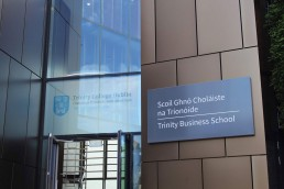 Trinity Business School Wayfinders Signage Project